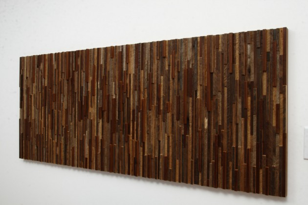 16 Magnificent Examples of Reclaimed Wood Wall Art (9)