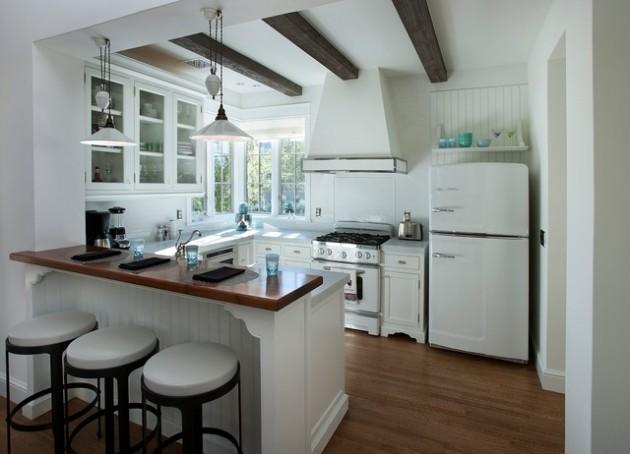 30 Elegant Contemporary Breakfast Bar Design Ideas on Modern:0Bjn4Cem9Be= Kitchen Counter  id=38283