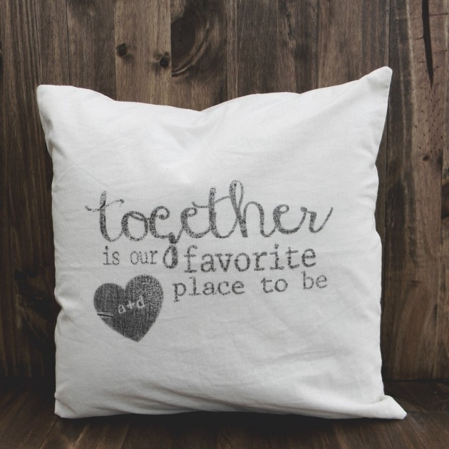17 Fascinating Handmade Valentines Day Pillow Designs