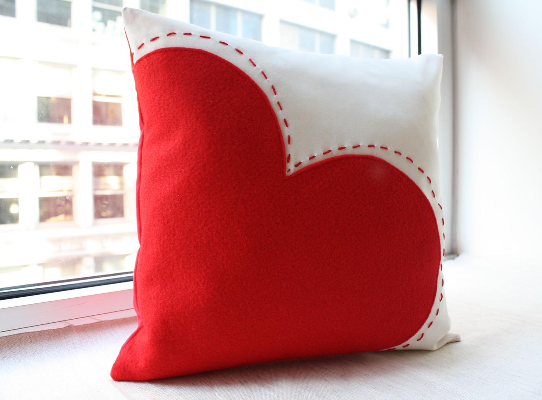 Как сделать подушку из сердца