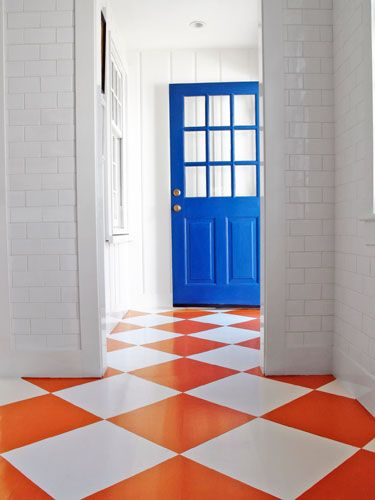 20 Colorful Floor Designs
