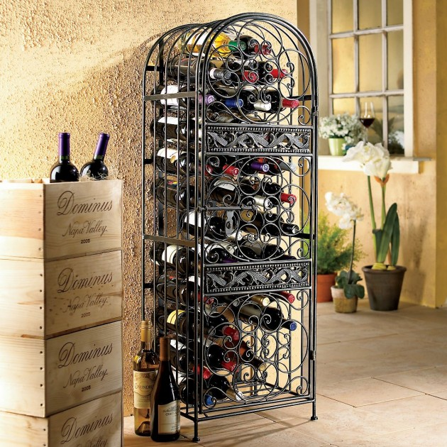 19 Elegant Wine Rack Design Ideas (3)