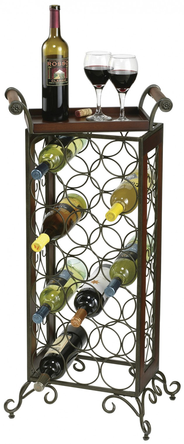 Wine Rack Designs ~ Elegant wine rack design ideas