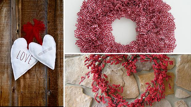 19 Outstanding Handmade Valentine's Wreaths