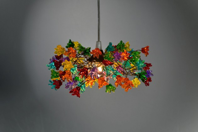 19 Very Colorful Handmade Chandelier Designs