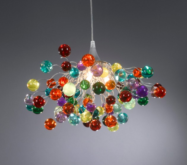 colorful chandelier lighting. Very Colorful Handmade Chandelier Designs Lighting