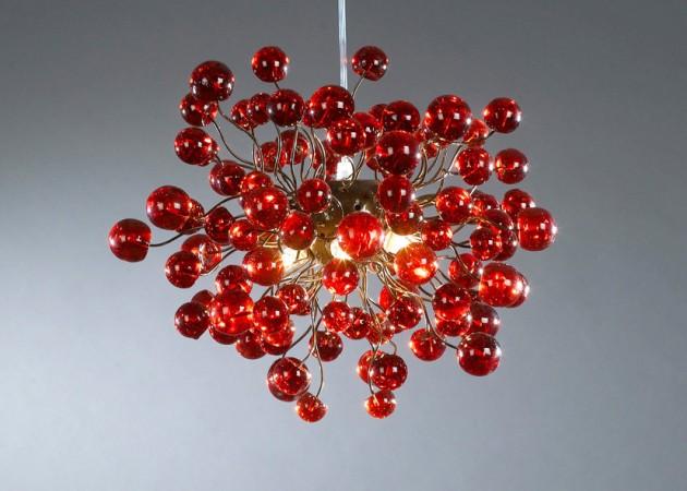19 Very Colorful Handmade Chandelier Designs