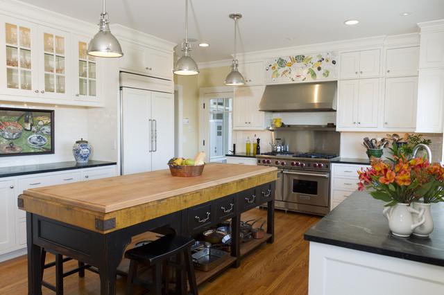 Designer Kitchen Ideas Islands ~ Industrial kitchen island designs for retro look of the