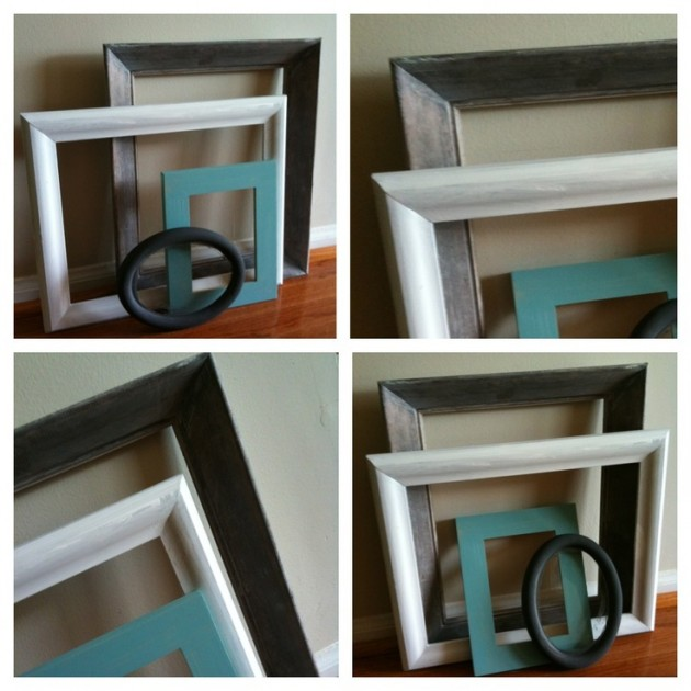 30 Beautiful Painted Vintage Picture Frames