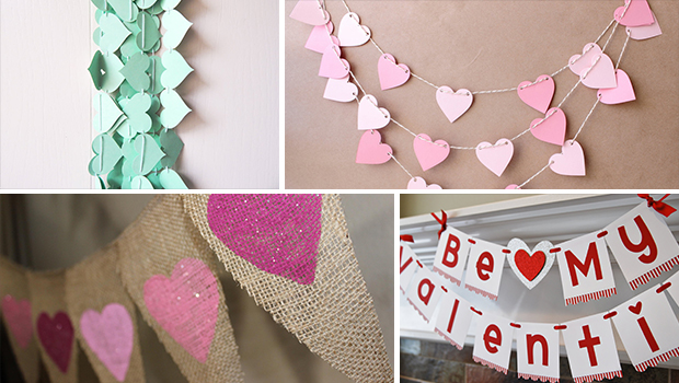 22 Lovely Valentine's Day Garland Designs