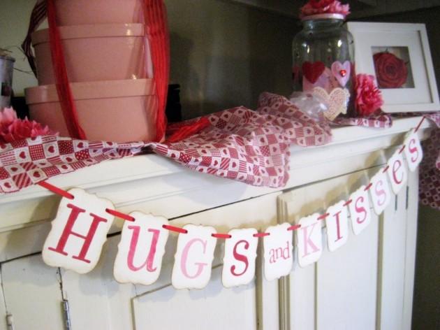 22 Lovely Valentine's Day Garland Designs