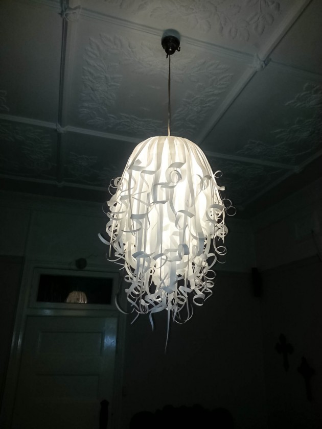 25 Artistic Handmade Paper Lampshades (2)