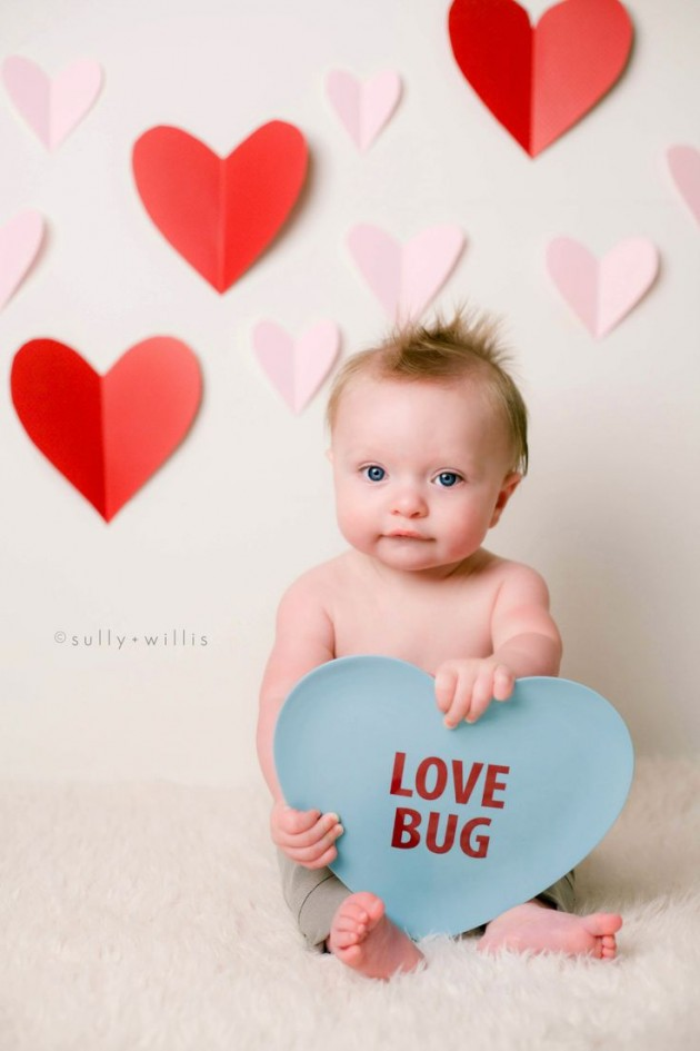 30 cute valentines day children photos