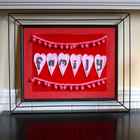 30 Loving DIY Valentine's Day Wall Art Ideas