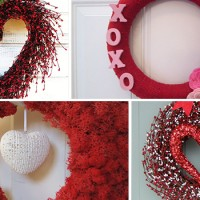 28 Lovely Handmade Valentine's Wreath Designs