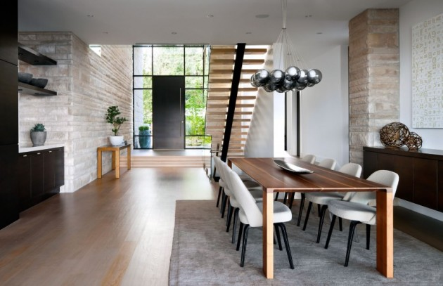 Top 10 modern house designs for 2013 for Modern dining room designs 2014