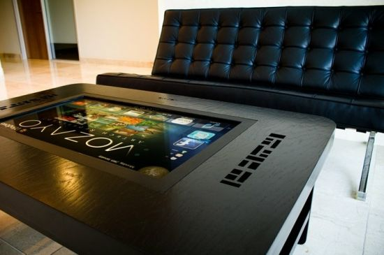 Fancy Multi Touch Table For Entertainment in the Living Room