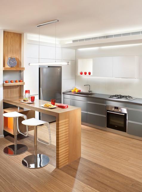 Contemporary Breakfast Bar Design Ideas