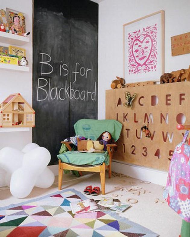 30 Fun Chalkboard Paint Ideas for Kids Room
