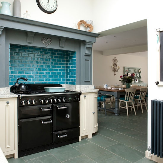 Design For Home: 25 Amazing Retro Kitchen Tiles Designs