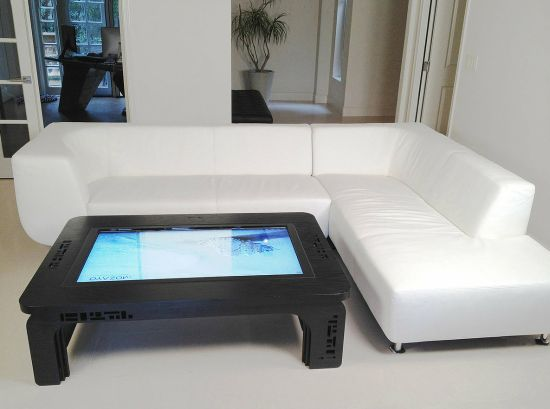 Fancy Multi-Touch Table For Entertainment in the Living Room