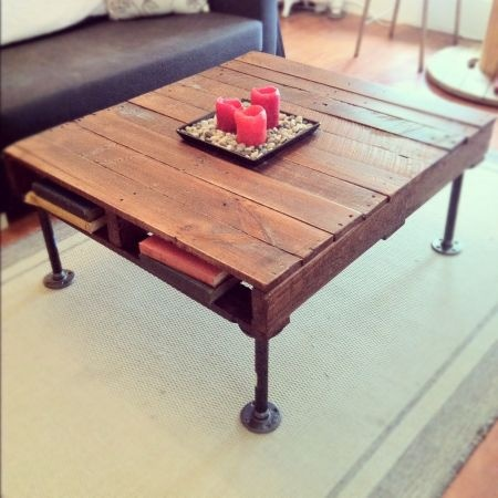 decent pallet coffee table