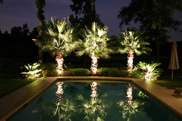20 Creative Ideas Of Landscape Lighting for Dramatic Backyard