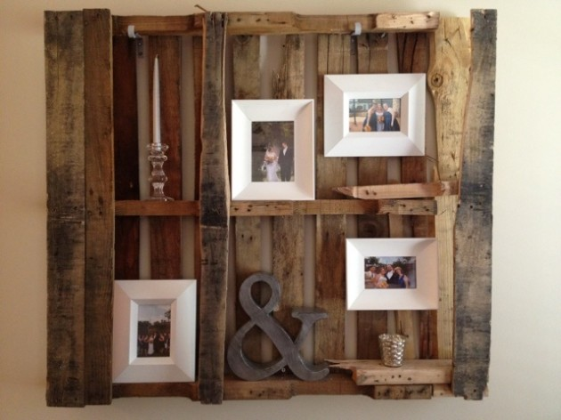 30 fantastic diy pallets wall art ideas - Wall hanging ideas for bedrooms ...