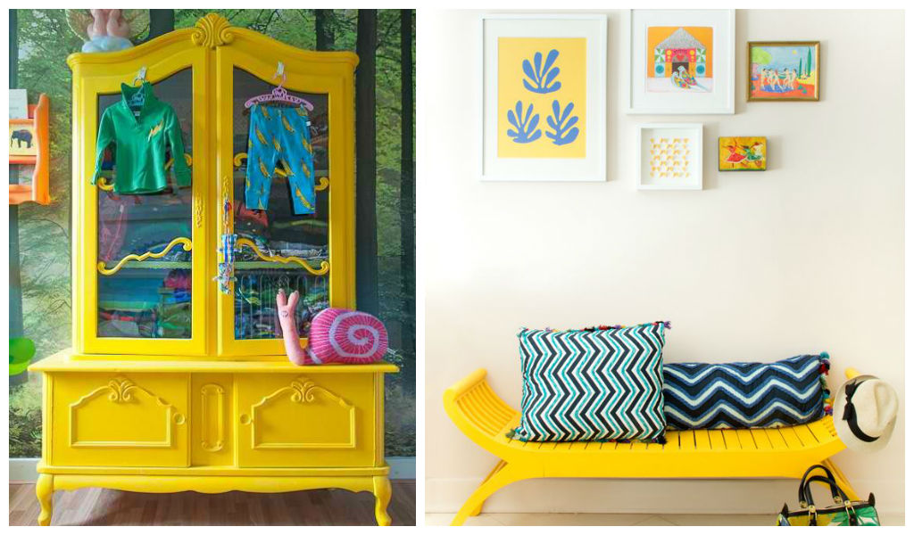 23 expressive yellow painted furniture ideas bright painted furniture