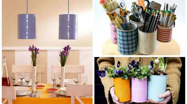 25 Creative DIY Can Ideas