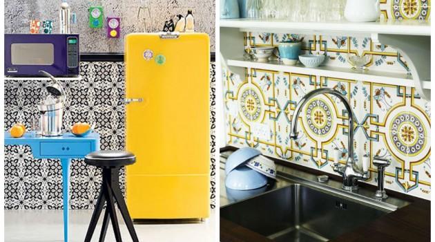 25 Amazing Retro Kitchen Tiles Designs