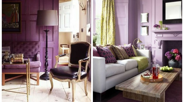 23 Amazing Purple Interior Designs