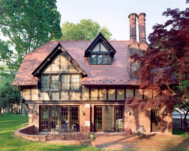 17 Sleek English Cottage House Design Ideas