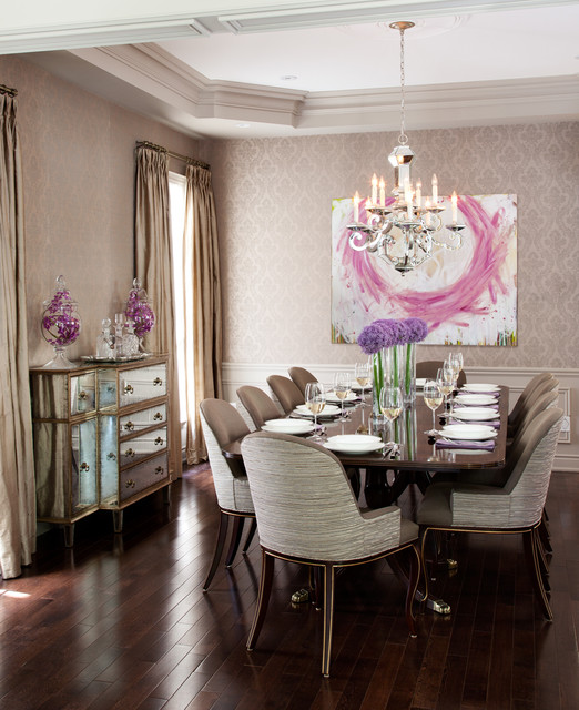 19 Magnificent Design Ideas of Classy Traditional Dining Rooms