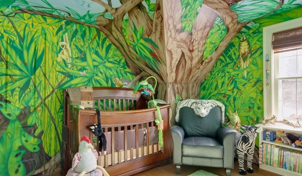 17 Awesome Kids Room Design Ideas Inspired From The Jungle