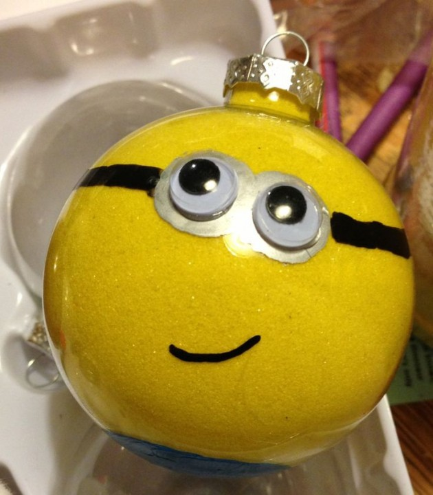 Image Result For Minion Christmas Ornament Craft