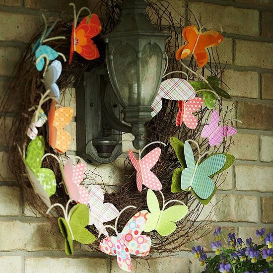 25 Lovely DIY Spring-Easter Wreaths