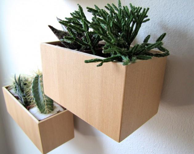 16 Minimalistic Handmade Wooden Planter Designs (3)