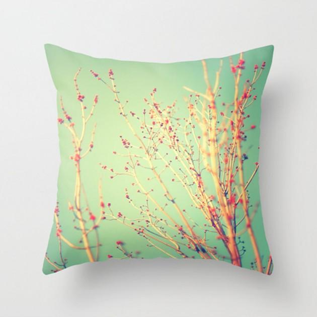 Spring Tree Decorative Pillow. 17 Refreshing Handmade Spring Pillow Ideas