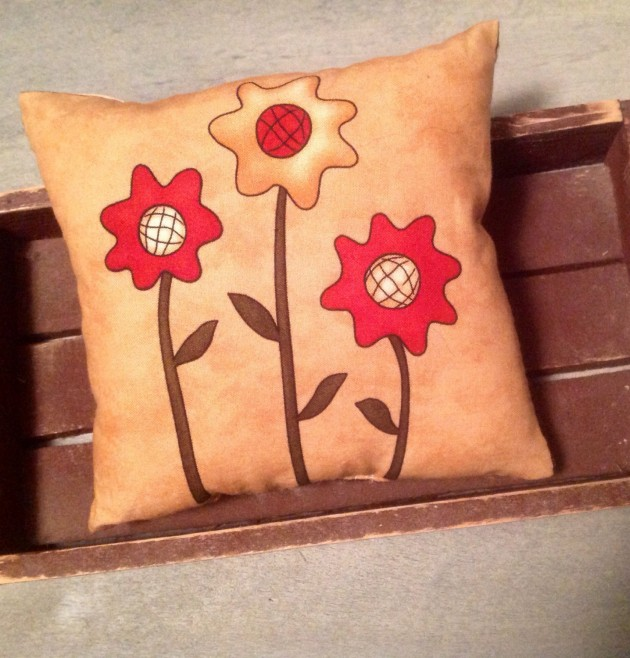17 Refreshing Handmade Spring Pillow Ideas