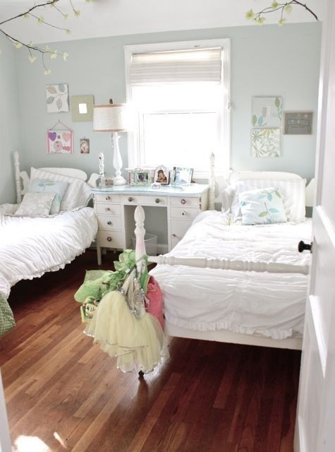 Pretty Shared Bedroom Designs For Girls: 22 Adorable Girls Shared Bedroom Designs