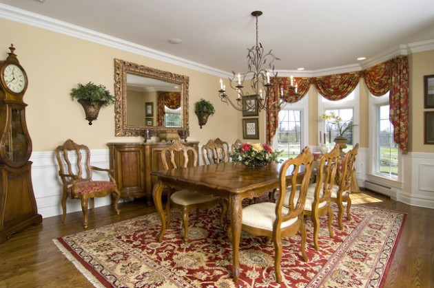 Magnificent Design Ideas of Classy Traditional Dining Rooms