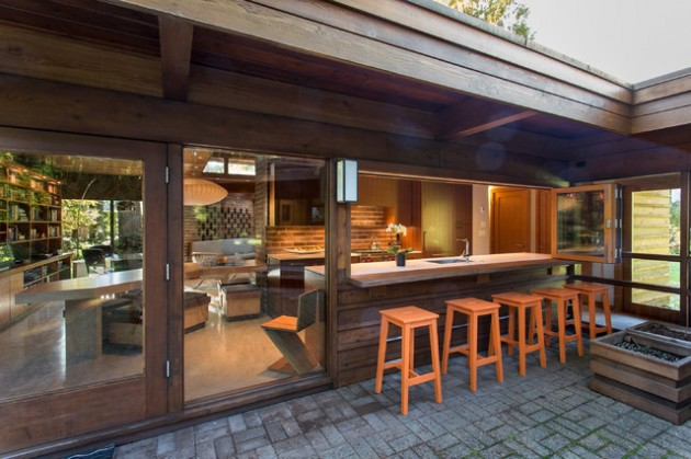 Wooden Awning Ideas Patio
