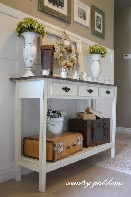 30 magnificent vintage hallway designs Entry table design ideas
