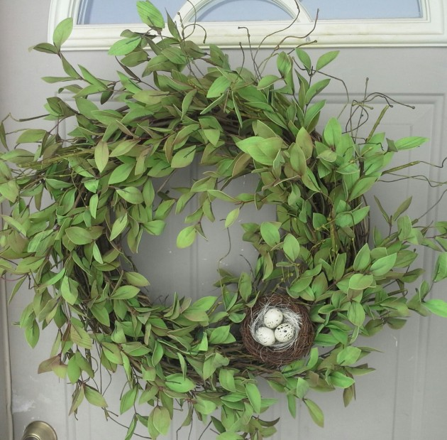 20 Refreshing Handmade Spring Wreaths