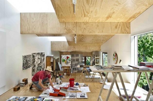 20 Inspiring Artist Studio Designs