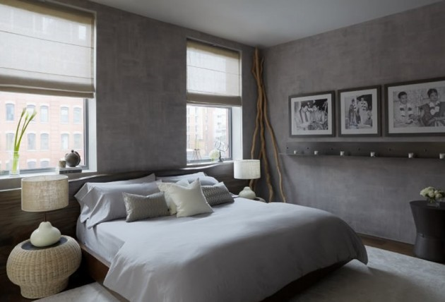30 Stunning Bedroom Design Ideas in Grey Color