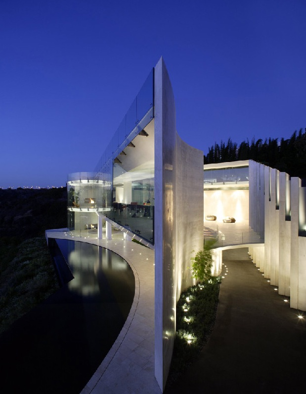 Seaview House Designed By Parsonson Architects: Luxury House With Remarkable Sea View