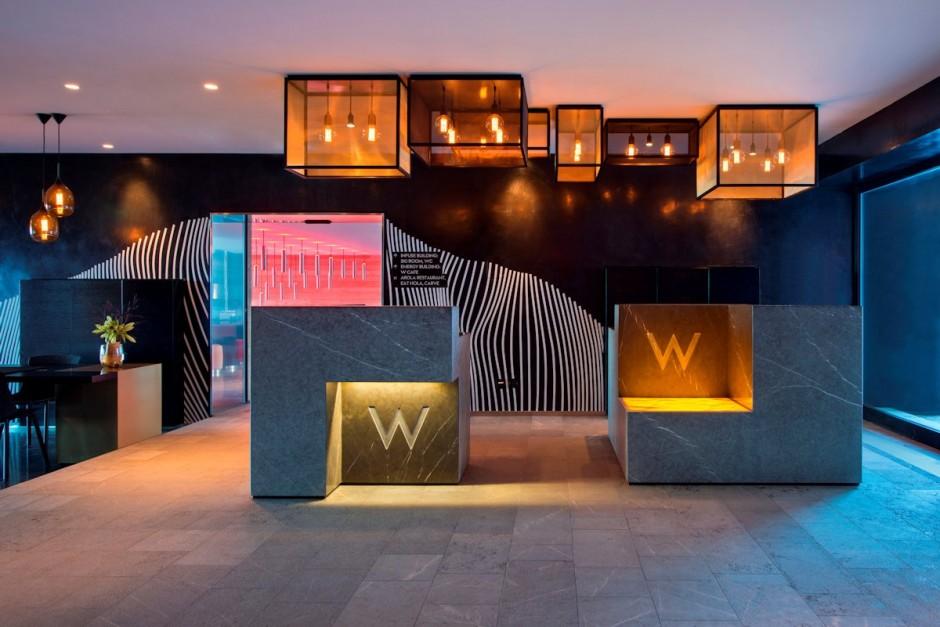 & Fascinating Interior Design of W Hotel in Verbier Switzerland