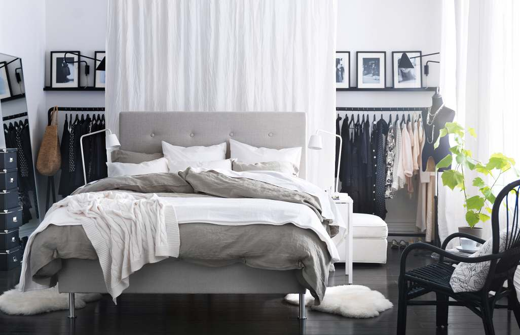 30 stunning bedroom design ideas in grey color. Interior Design Ideas. Home Design Ideas